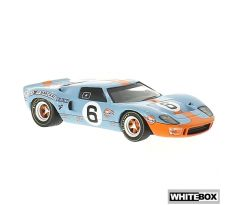 1/43 WHITEBOX Ford GT40 RHD Gulf 24h Le Mans 1969