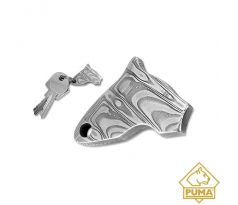 PUMA head key ring pendant, damascus